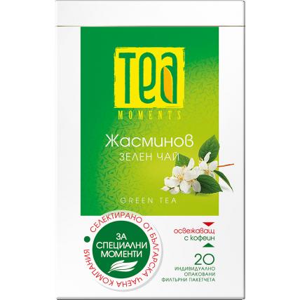 Чай Жасминов зелен чай на Tea Moments
