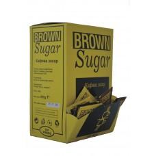 Кафява захар на пакетчета 4гр. х150бр. в кутия